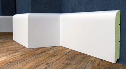 Białe Listwy MDF lakierowanie wymiary i rozmiary