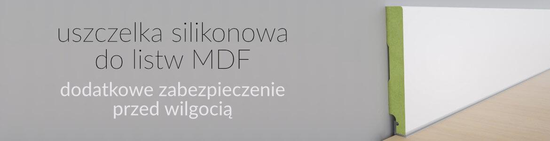 uszczelka silikonowa do listw mdf